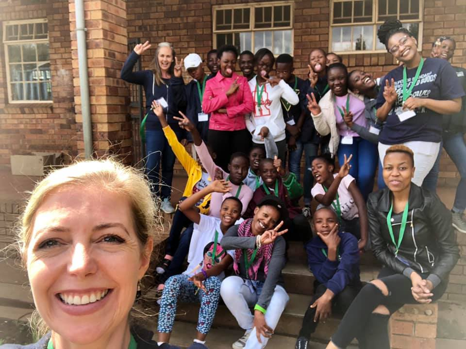 Soweto School outreach day with Dare - Lumminos